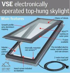 Velux Electric openable skylight VSE M06 Clifton Beach Clarence Area Preview