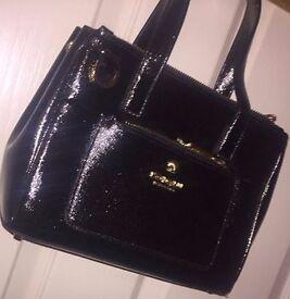 Designer hand black bag