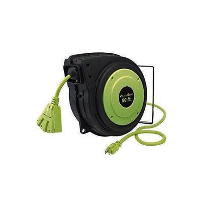 "LEGACY MFG. CO. E8140503 - Flexzilla 5/8"" x 50', ZillaGreen Electrical Cord w/ 3"