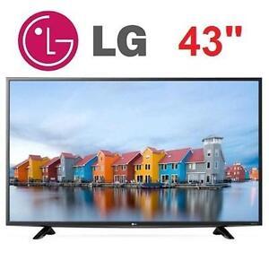 "NEW OB LG 4K UHD LED TV 43"" - 111308566 - HDTV TELEVISION HOME THEATRE NEW OPEN BOX"