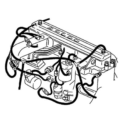 82208491 Chrysler Town /& Country Dodge Caravan 7 Way Round Trailer Wiring