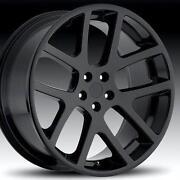 22 inch Black Rims