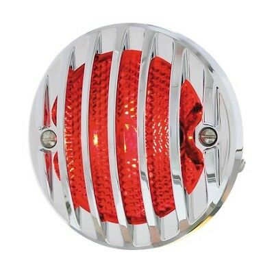 UNITED PACIFIC 110656 - Incandescent Glass Lens Tail Light Assembly with Grille