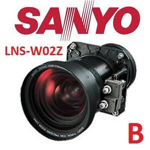 USED* SANYO PROJECTOR ZOOM LENS Short Throw (1.3-1.8) Projector Lens 106961410