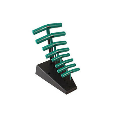 SK HAND TOOL 8 Pc. Metric T-Handle Hex Key Set (Sk Hand Tool Metric Handles)