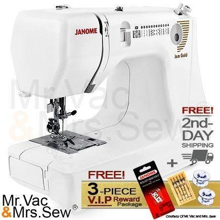 Janome Jem Gold Sewing Machines Amp Sergers Ebay