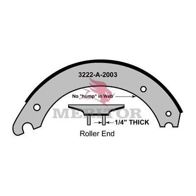 Details about MERITOR BRAKE SHOE LINED SR3014718QP