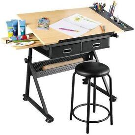 Craft/art table & stool