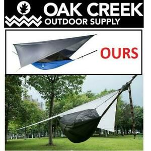 NEW LOST VALLEY CAMPING HAMMOCK 43249-147434 251846683 OAK CREEK OUTDOOR SUPPLY Nylon Portable Single Hammock Holds U...
