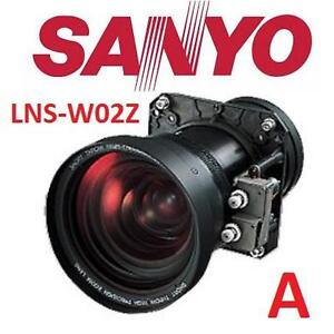 USED SANYO PROJECTOR ZOOM LENS Short Throw (1.3-1.8) Projector Lens - TWO TERMINAL BOARDS 106975102
