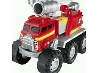 Matchbox Stinky The Garbage Truck And Matchbox Big Rig Firetruck