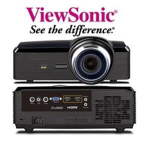 REFURB VIEWSONIC LASERLED PROJECTOR PRO9000 146768547 600 ANSI Lumens Laser LED Hybrid Light Engine Full HD 1080P DLP