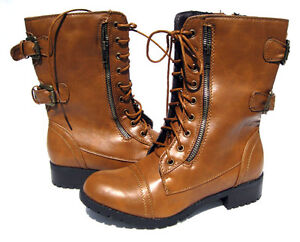 s designer motorcycle combat boots camel shoes