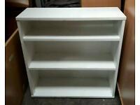 White Bookcase Storage Unit !
