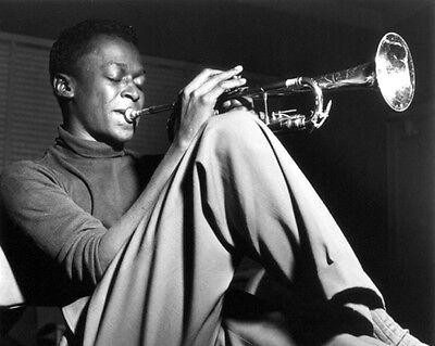Jazz Musician MILES DAVIS Glossy 8x10 Photo Music Print Poster