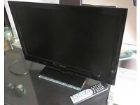 """Celcus 24"""" TV with built in DVD"""