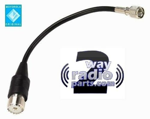 Motorola XTL5000 MCS2000 Mini UHF to SO239 (PL259)High Quality Adapter cable OEM
