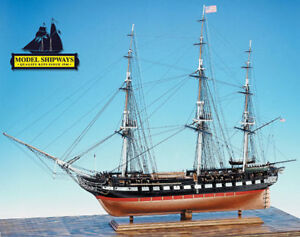 USS Constitution 1797   -   48'' Long    1:76 Scale Model