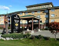One night accommodation for two at Sandman Hotel Edmonton West