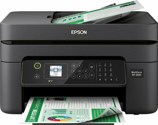 NEW Epson WorkForce WF-2830 Printer Fax Scanner Copier All-I