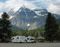 Park Operator at Mount Robson Provincial Park (Campground)