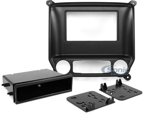 Metra 99-3014G Single/Double DIN Install Dash Kit For 2014-Up Silverado & Sierra