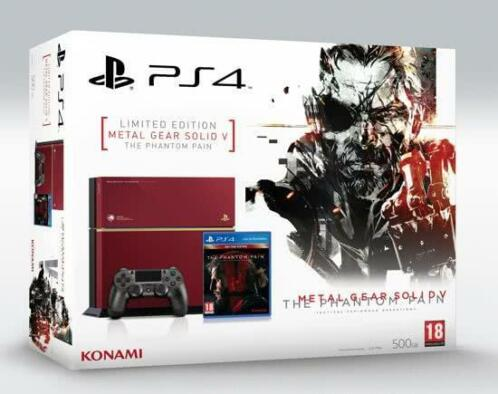PlayStation 4 Metal Gear Solid V: Phantom Pain - Day One Ed.