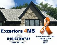 Eavestrough Gutters Soffit Fascia Siding