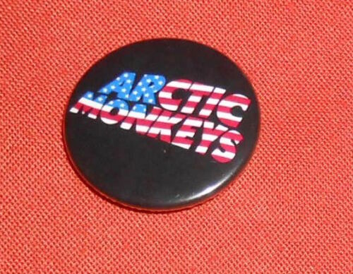 "Arctic Monkeys Button Pin Original Promo 1.5"""