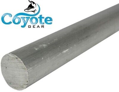 2-12 Diameter X 12 Long Made Usa Round Aluminum Solid Rod Stock Coyote Gear