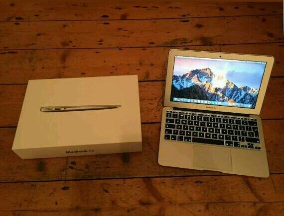 "Apple Macbook Air 11Macbook Air 11.61.3GHz i5 Processor4GB Ram256 GB Storagein Erdington, West MidlandsGumtree - Apple Macbook Air 11.6"" (Late 2013) 1.3GHz, Intel Core i5 (Turbo Boost up to 2.6GHz) with 3MB shared L3 cache Processor, 4GB Ram, 256 GB Storage. Has 2016 Microsoft office and Photoshop installed. Macbook is in immaculate condition without any marks..."