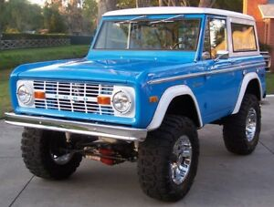 Looking for a 66-77 Bronco Frame or project