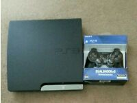***Very good condition*** Sony Playstation 3 Slim 320GB Black With 4 games.