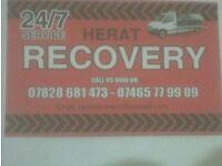 24/7 service Herat Recovery