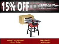 "Proplus 10"" Table Saw & Extension table 1500 WATT Blade tilting"