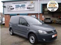 2011 61 VOLKSWAGEN CADDY SWB 102BHP IN PURE GREY AIR CON, LARGE CHOICE OF VW'S