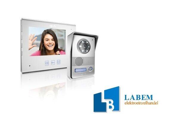 SOMFY V400 Farb Video Kamera Sprechanlage Türsprechanlage 2 Draht 1WE 1 Familie