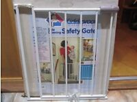 Kiddiproof Side Opening Safety Gate for stairs and doorways.
