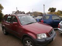 AUTOMATIC SUV Honda Cr-V 2.0 i ES Station Wagon 5dr SUV 1998 R Reg p/x welcome