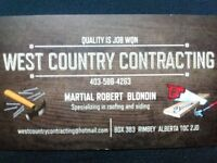 General Construction Specializing in Roofing and Siding