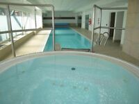 Apartment in Cardiff - with Balcony, Swimming Pool and Great View