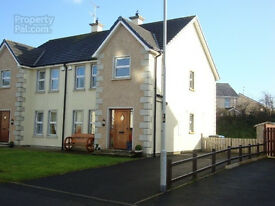 TO LET - MODERN SEMI DETACHED OUTSIDE CLAUDY VILLAGE -3 BEDROOM
