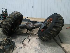 Front differential off M120 kubota