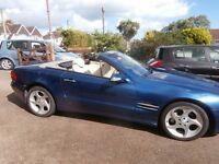 Automatic Mercedes-Benz SL Class 5.0 SL500 2dr Convertible 2003 £7995 56600 Miles Service History