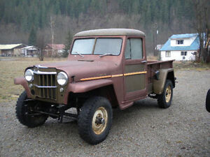 1956 Willys Truck Tub