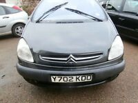 Citroen XSARA PICASSO - GOOD CONDITION - MOT UNTIL JANUARY 2017