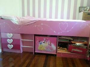 Disney Princess Girls Bed Maroochydore Maroochydore Area Preview