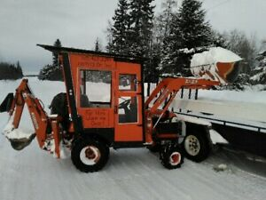2004 Kubota BX23 4x4 tractor with loader/backhoe/snow blower