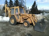 2wd backhoe for hire