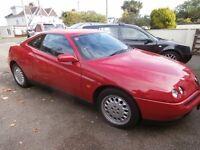 Alfa Romeo GTV 2.0 T.Spark 16v 2dr Coupe 1997 R Reg 121k Service History